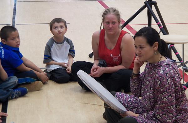 Inupqiaq Storytelling/Dance in Ruby, September 2014