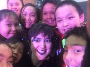 Raven (Sarah Mitchell) selfie!